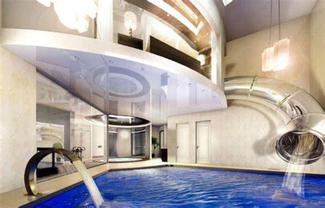 luxury home stuff super cool mansion with an indoor water ride in england