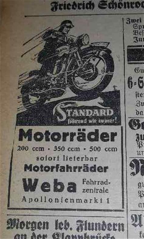 Alte Motorrad Blechschilder by Standard Motorr 228 Der Schilderjagd Alte Emailleschilder