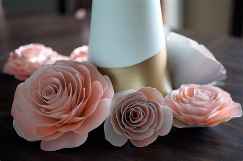 paper flowers wedding crafts