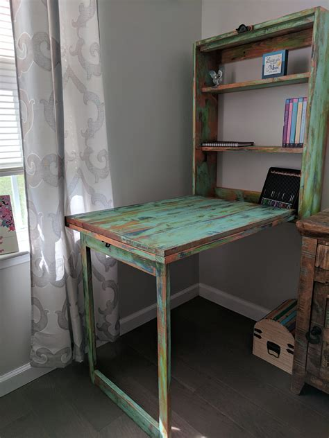 diy murphy desk shanty  chic