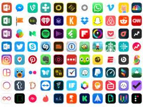 Ultimate App Icons Set Sketch freebie - Download free ...