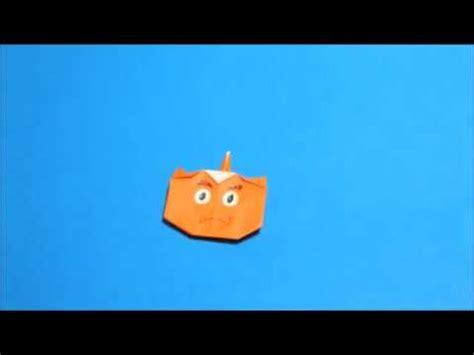 Origami Oni - 折り紙で作る 1本角の赤鬼の折り方 作り方 origami oni