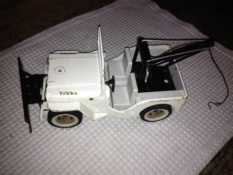 toy jeep for tonka toy jeep with wrecker and plow on ebay ewillys