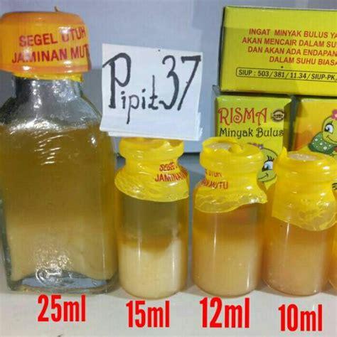 minyak bulus ori asli original ml ml ml risma