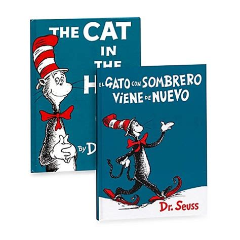 the cat in the hat in english and dr seuss s the cat in the hat english and spanish versions bed bath beyond