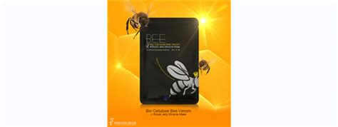 Tt Bio Cellulose Bee Venom Royal Jelly Miracle Mask Europe Quality equipment furniture microdermabrasion micro current