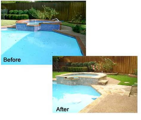 before and after gallery 1st stop pool remodeling