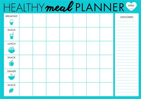 free printable meal planner calendar diet calendar planner distributionnews