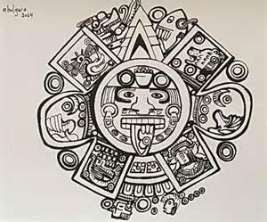 Calendario Azteca Y Fotos Calendario Azteca Mis Pinturas Dibujos Y Garabatosmis