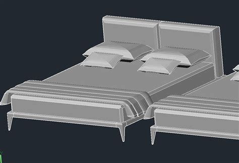 bed format download beds 3d models bed park by poliform night s