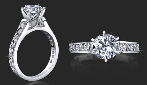 imagenes de anillos de compromiso en oro blanco anillo de compromiso con 21 diamantes y oro blanco 14k
