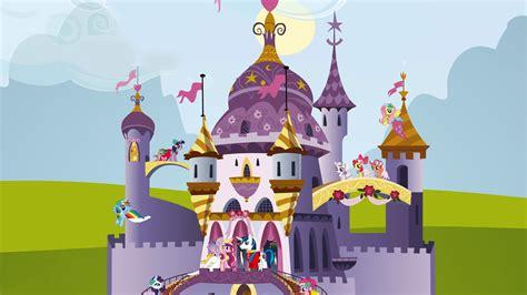 mlp twilights castle my little pony friendship is magic castle 408461 walldevil