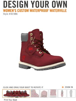design your own timberlands