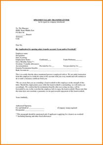 9 bank account transfer letter format dialysis