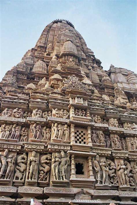 khajuraho group  monuments india tourist information