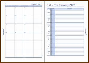 10 weekly calendar with time slots writable calendar