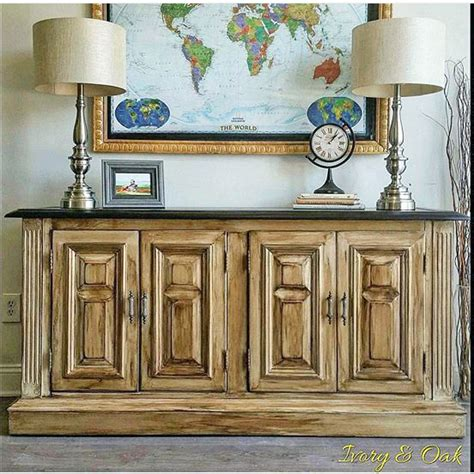 Gray Green Kitchen Cabinets - antique white glazed buffet general finishes design center