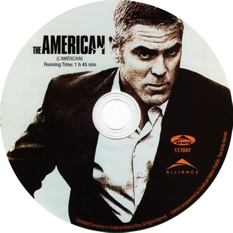 The American The American Scanned Dvd Labels The American L Americain Cd Dvd Covers