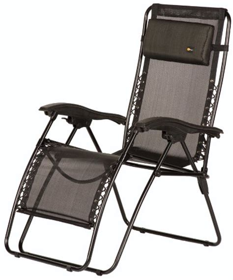 Outdoor Recliner Chairs Best Price by Faulkner 48972 Malibu Style Black Mesh Recliner With