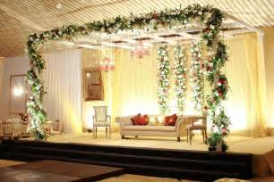 Simple Wedding Decorations For Home by Simple Baraat Wedding Day Stage Wedding Decor
