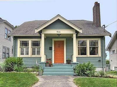 Blue House Orange Door | old habbits life on the rocks