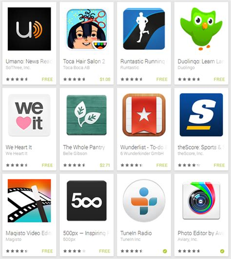 list of app stores for android the best android play store apps of 2013 list redmond pie