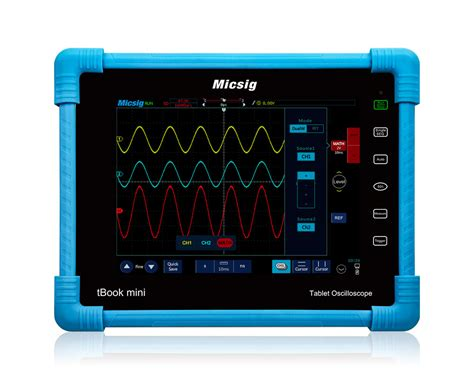 Tablet Oscilloscope Micsig To1102 100mhz 2 Chanel r telecom ltd to1102 tbook mini tablet oscilloscope