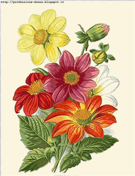 punto croce fiore professione donna schema a punto croce fiore 21