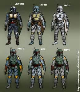 mandalorian armor colors all boba fett color schemes by araxussyexyr on deviantart