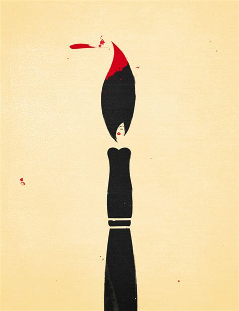 picture illustration clever minimalist illustrations of abstract concepts and