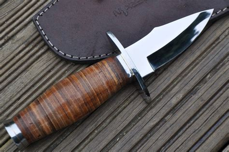 leather knife handle knife with leather handle perkin