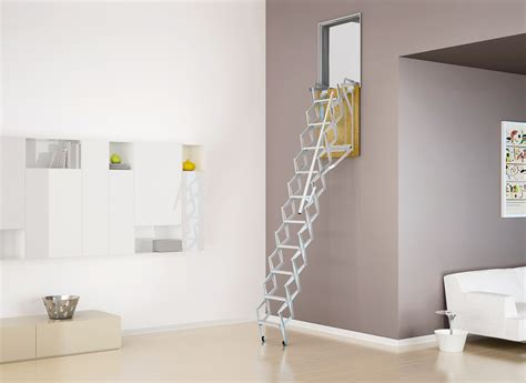 retractable wall wall mounted retractable ladders vertically integrated stairs