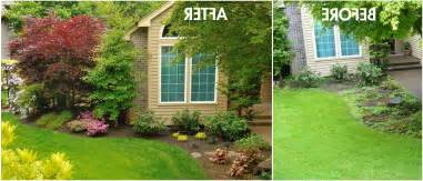easy care front yard landscaping easy landscaping ideas home decorating and tips