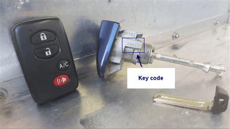 Toyota Address Toyota Camry Key Information Mile High Locksmith 174