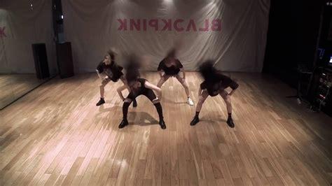 blackpink boombayah dance mirrored blackpink boombayah dance practice video