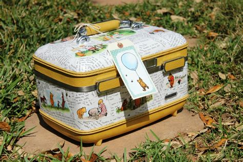 How To Decoupage A Suitcase - my junk obsession how to decoupage a suitcase