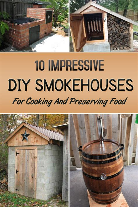 impressive make your own house 10 impressive diy smokehouses for cooking and preserving food