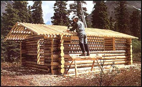 building a cabin the story of proenneke and how he built a cabin by
