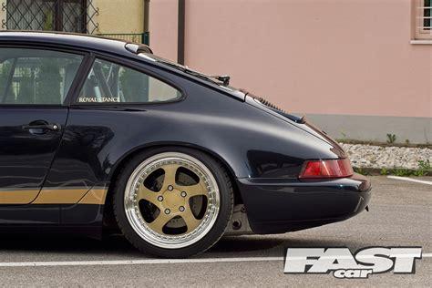 stanced porsche 964 stanced porsche 964 fast car