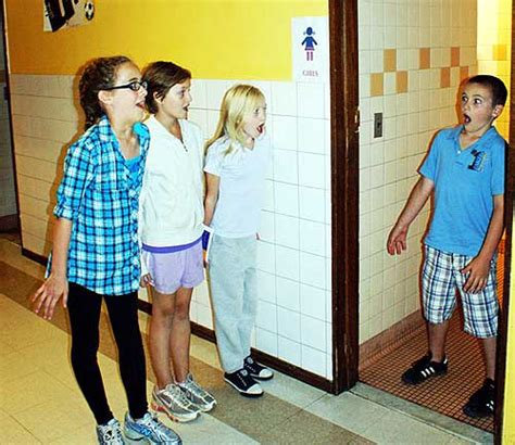 girls in bathroom with boys preview quot there s a boy in the girls bathroom quot ncpr news