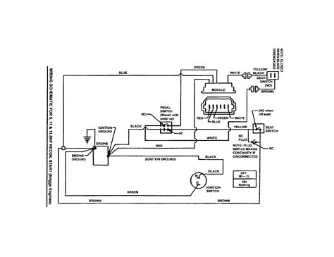 lawn mower wiring diagram solenoid wiring diagram for huskee mower solenoid