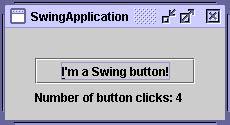 learn swing in java exle two swingapplication