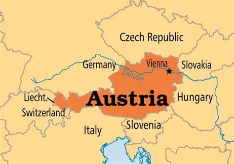 austria on the world map austria operation world