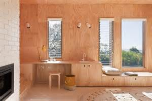 plywood design awesome timber shack finished in plywood modern