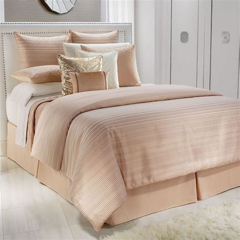 jennifer lopez comforter set jennifer lopez ember queen peach comforter 3 pc set shams