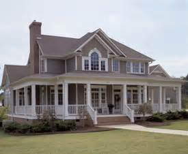 country style house with wrap around porch country style wrap around porch house plans home design
