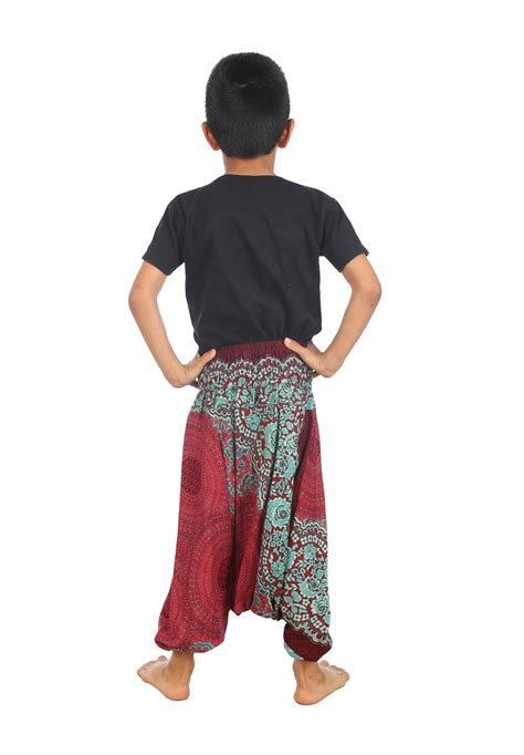 New Retro Harem by New Children Harem Boho Trouser Hipppie Colorful