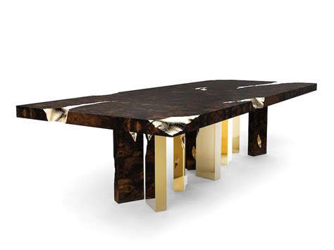 Modern Dining Table Designs 5 Astonishing Modern Dining Tables From Salone Mobile 2016
