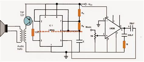 class d lifier circuit using ic 555 circuit diagram centre
