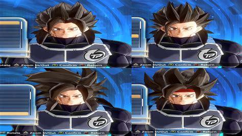 hairstyles xenoverse mod ssj4 hair pack dragon ball xenoverse 2 mods gamewatcher